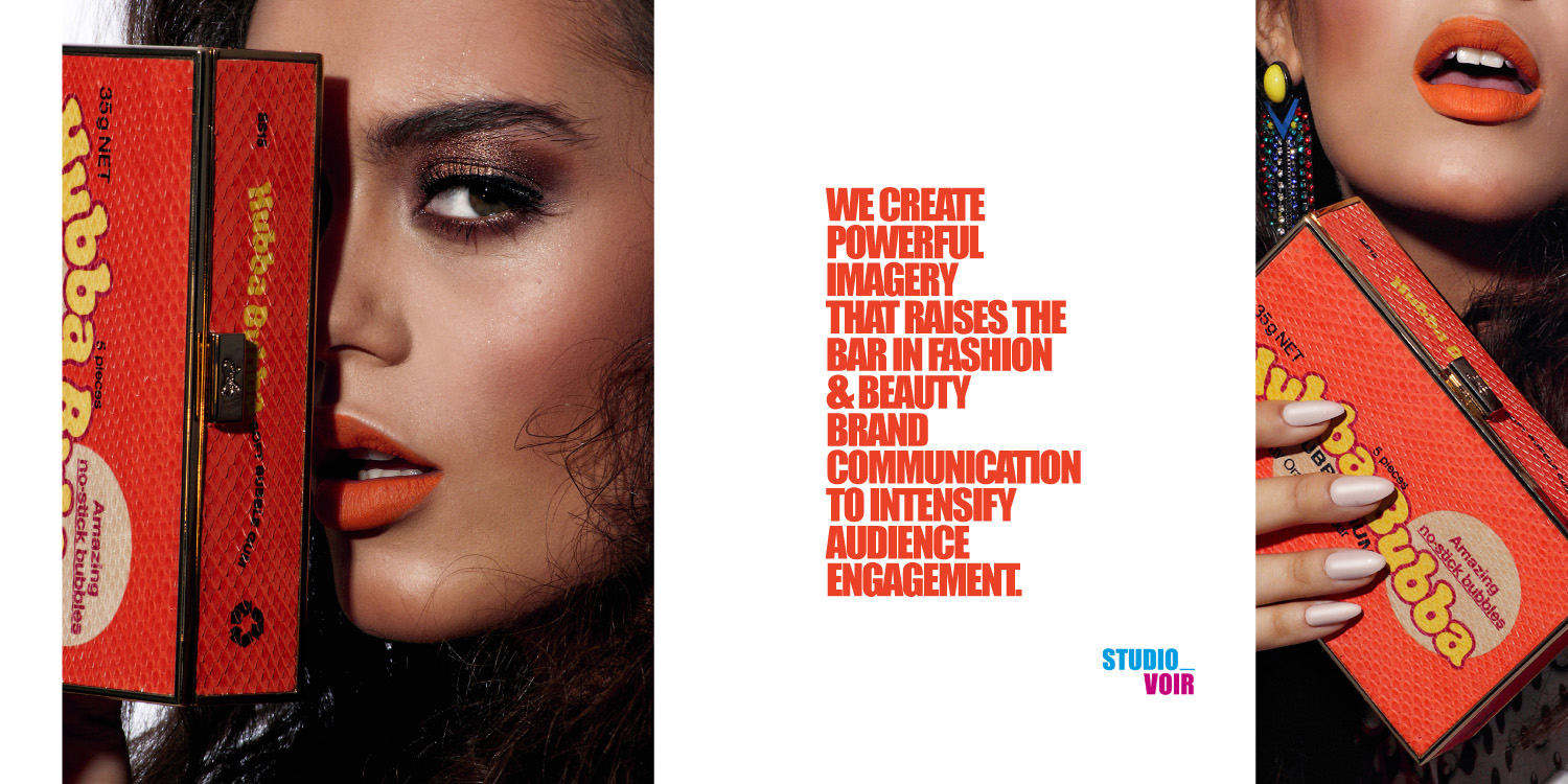 The World of Studio Voir Beauty photography for Accessorize story - Voir Fashion magazine