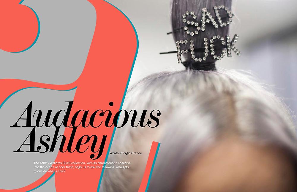 Audacious Ashley Williams