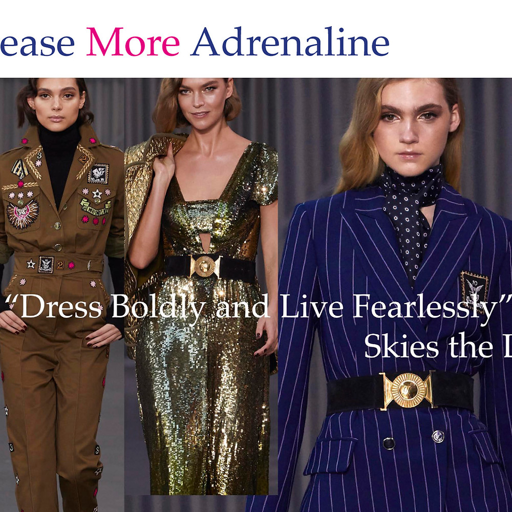 Release More Adrenaline: Voir Fashion Digital