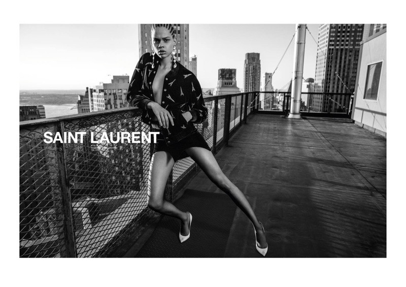 Saint Laurent - Spring/Summer 2018 campaign by Inez & Vinoodh