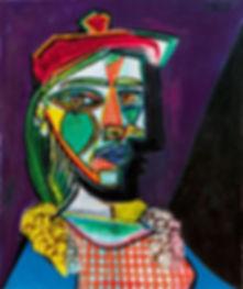 4-Pablo-Picasso's-'Femme-au-béret-et-à-l