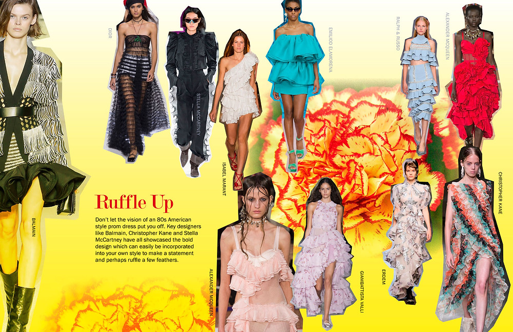 Ruffle Up - SS18 Trends
