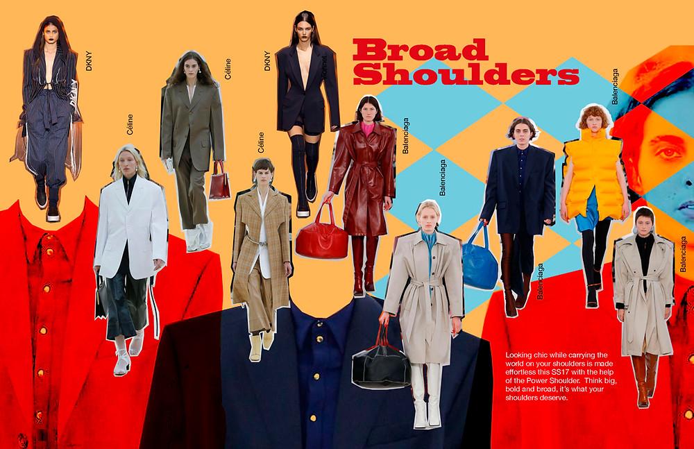 Broad Shoulder trend edit