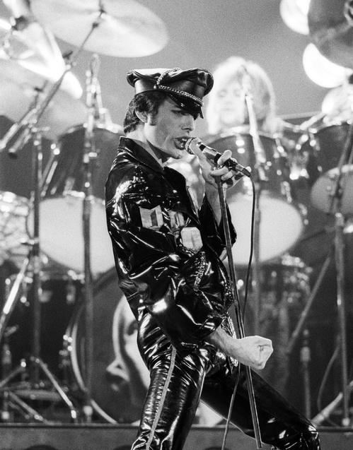 Freddie Mercury on stage in Oakland, 1978 (Getty)