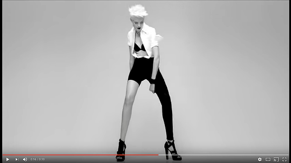 MaDame Gaultier fragrance commercial