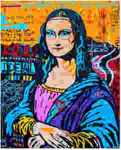 Mona Lisa by Jisbar