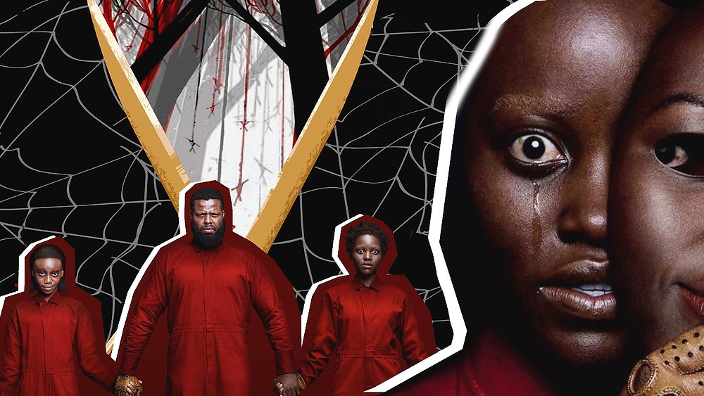 Lupita Nyong'o, Winston Duke and Shahadi Wright Joseph starring in Jordan Peele's 'Us'