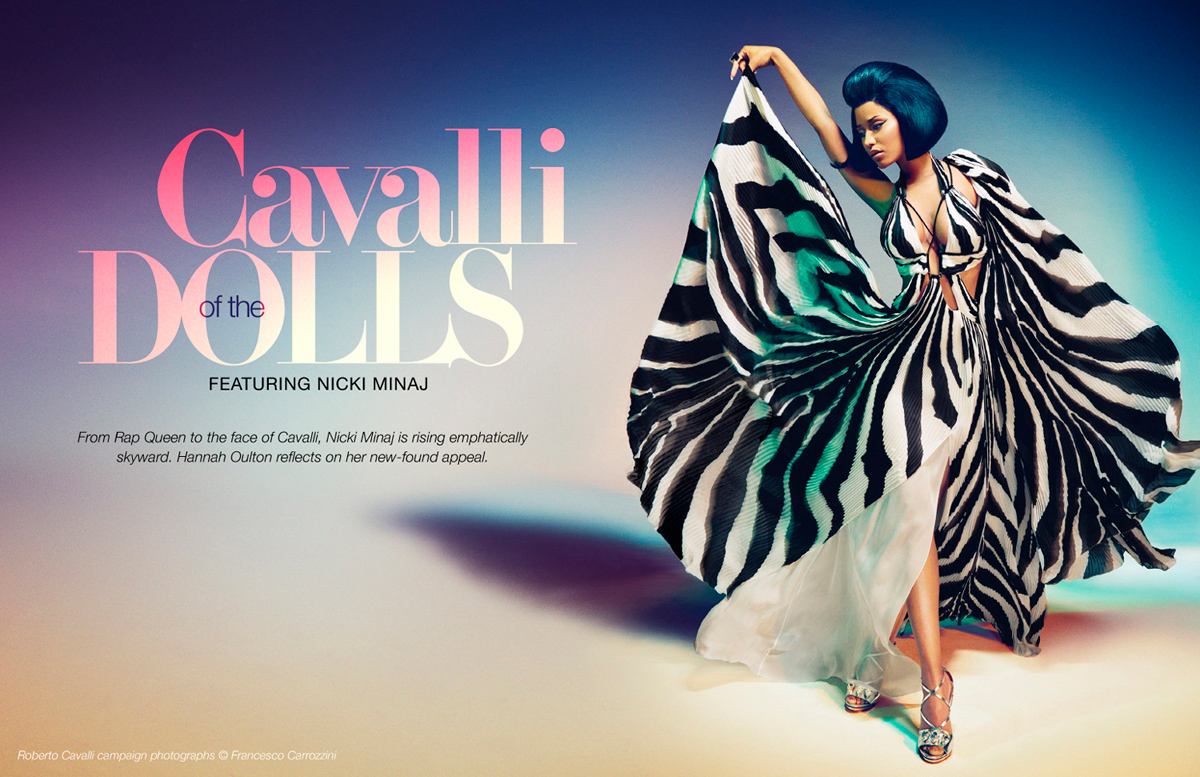 Voir Fashion Issue 12 Cavalli of the Dolls feature