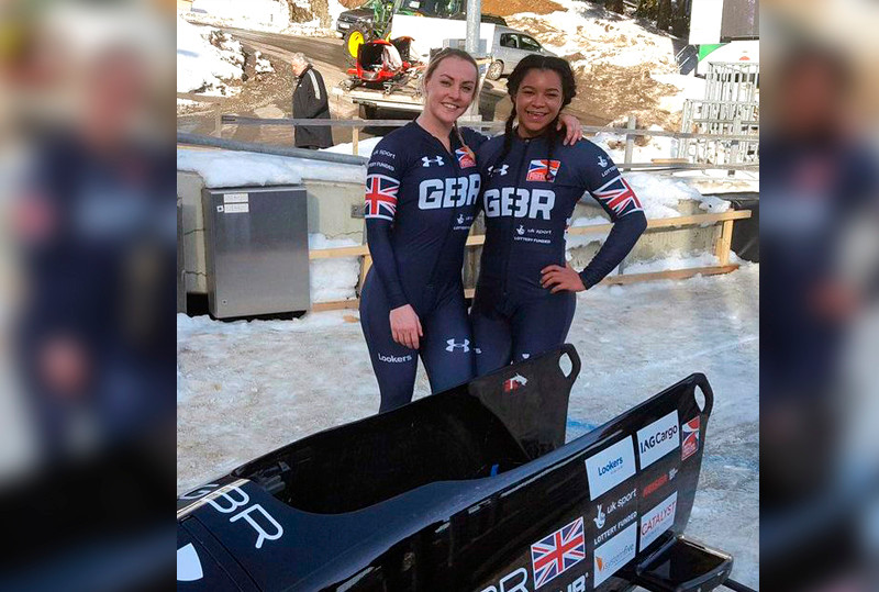 Mica McNeill & Mica Moore for Team GB