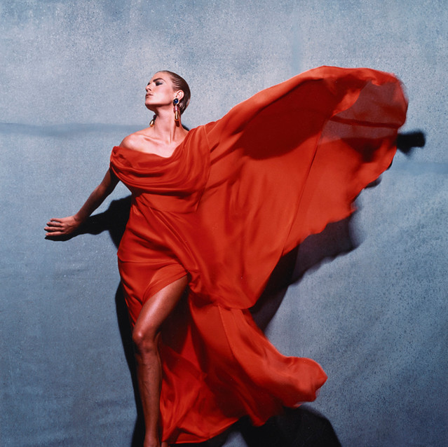 Victor Skrebneski American, born 1929 Givenchy Red, Paris, negative, 1990; print, about 1995 Silver-dye bleach print 51 x 40.4 cm (20 1/16 x 15 7/8 in.) The J. Paul Getty Museum, Los Angeles, Purchased with funds provided by the Photographs Council © Victor Skrebneski 2016.92