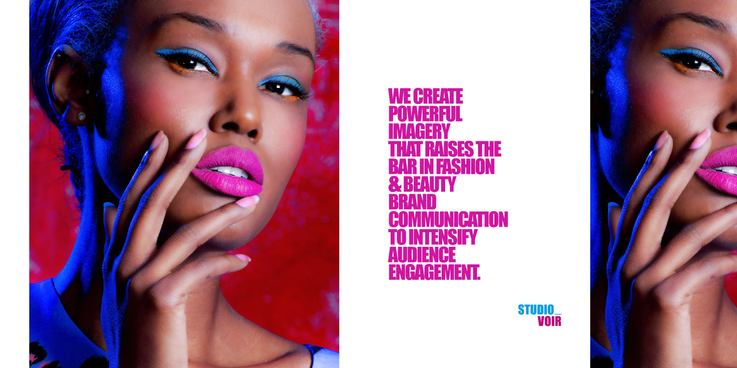 The World of Studio Voir Beauty editorial in association with MAC Cosmetics for Voir Fashion magazine
