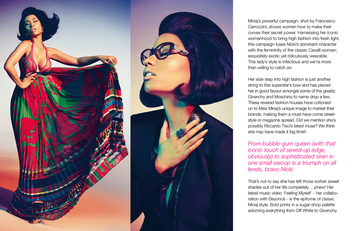 Voir Fashion Issue 12 Cavalli of the Dolls feature3