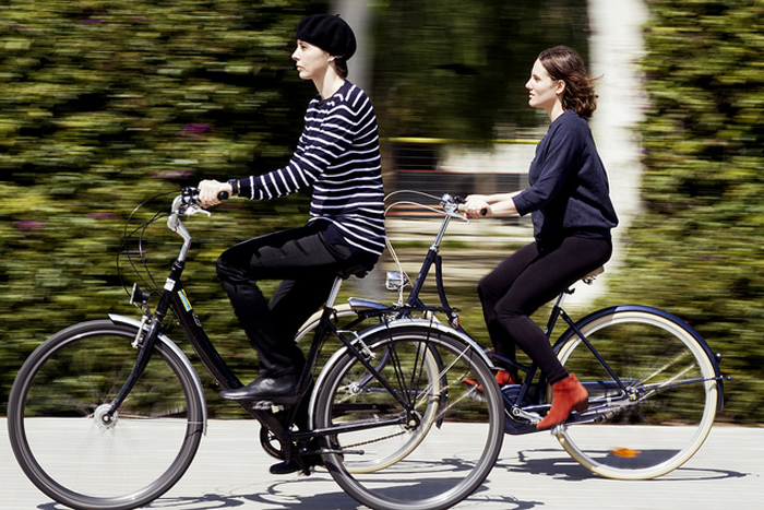 2 wheels giving 2 girls the freedom to be individual