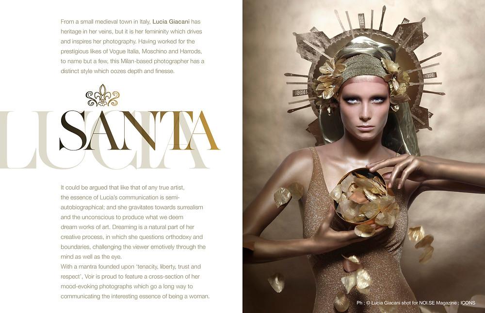 Ph : © Lucia Giacani shot for NOI.SE Magazine : ICONS