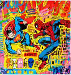Superman vs Spider by Jisbar