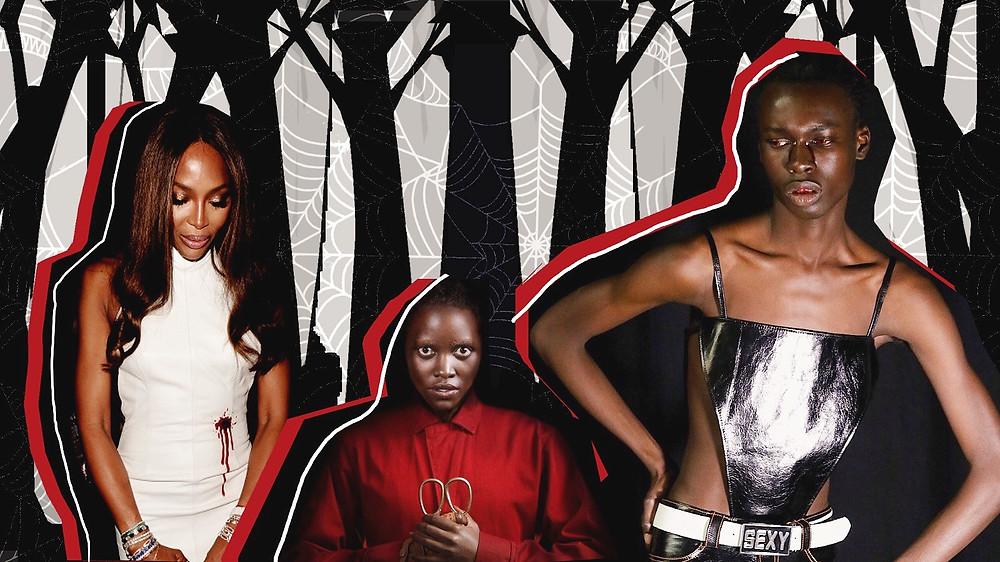Mowalola Ogunlesi's designs, Naomi Campbell and Lupita Nyong'o starring in Jordan Peele's 'Us'