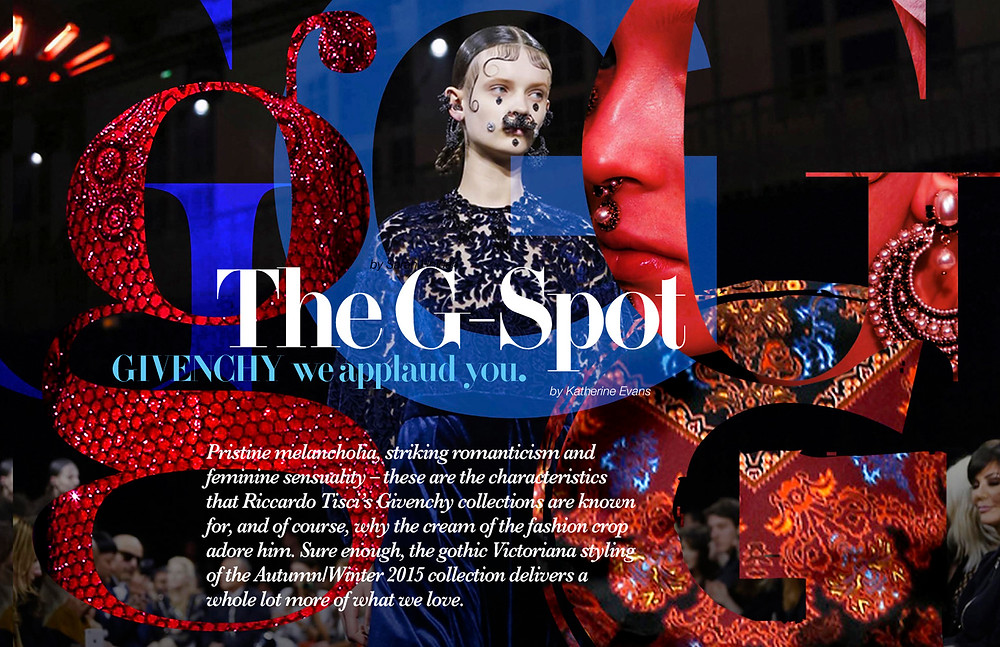Givenchy the brand under Riccardo Tisci AW 2015