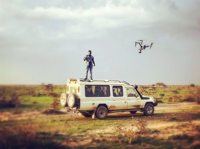 MIST: Game Changer Music Video - Jeep Scene in filming