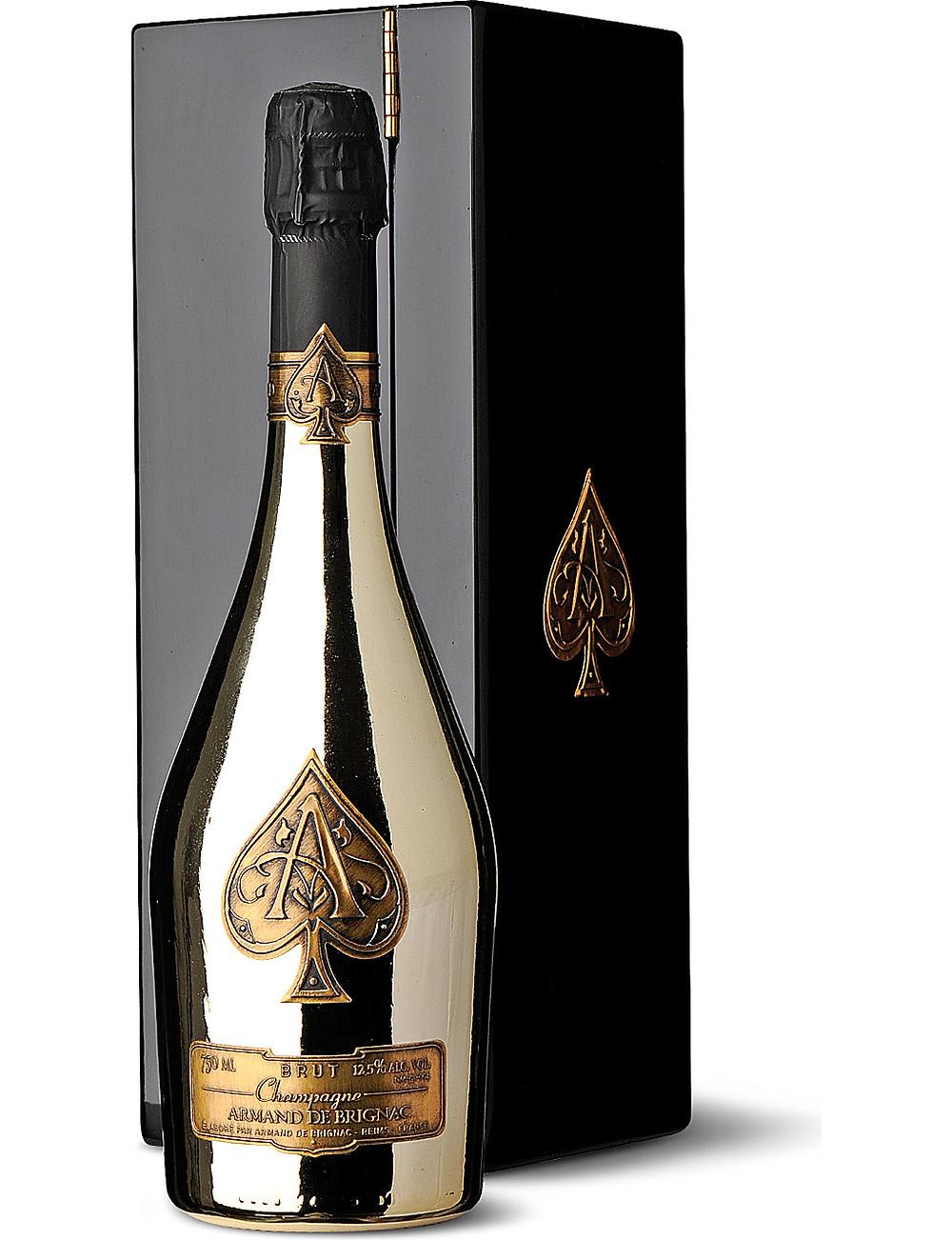 Ace of Spades Armand de Brignac Champagne