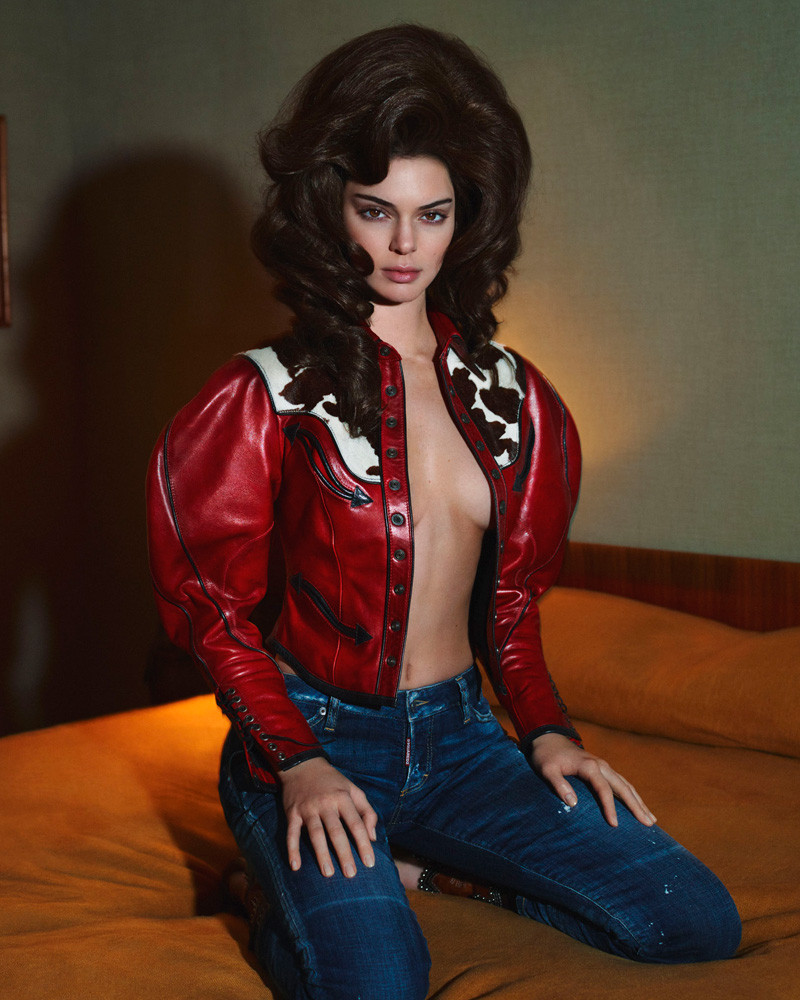 Kendall Jenner fronts DSquared2 autumn-winter 2018 campaign