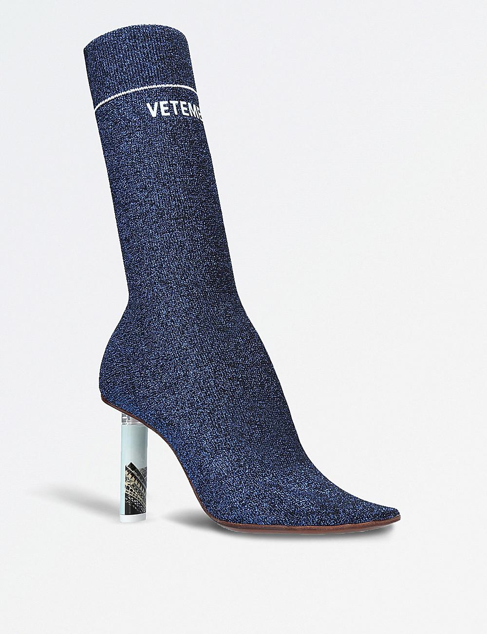 VETEMENTS Lighter-heel sock boots
