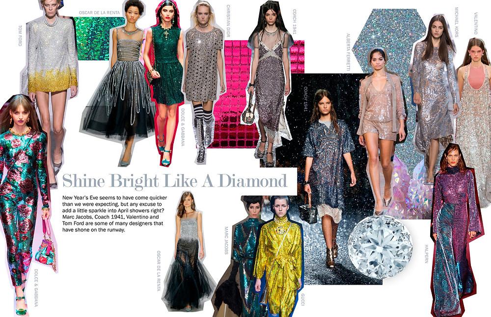 Shine Bright Like A Diamond - SS18 Trends
