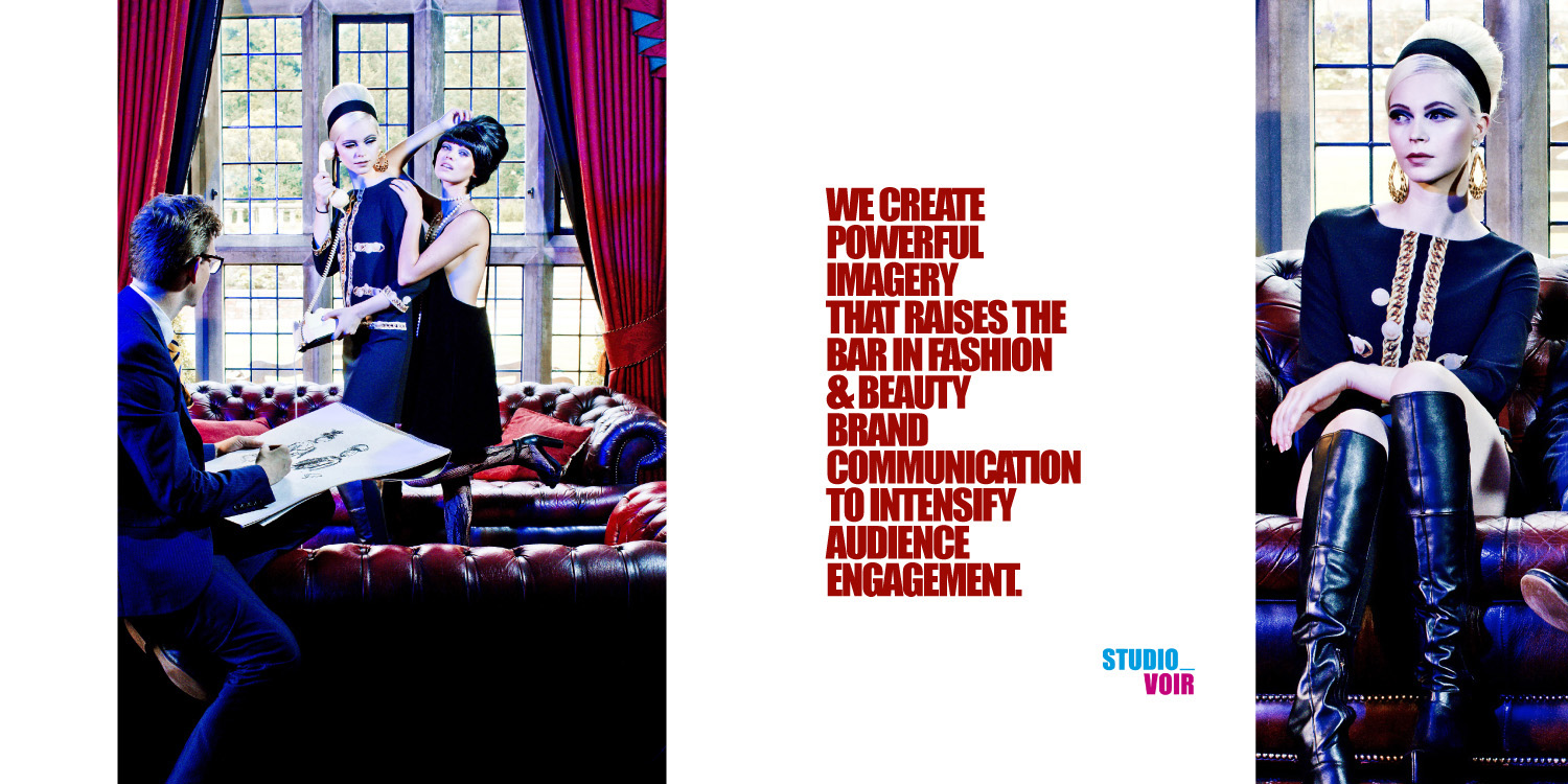 The World of Studio Voir Fashion editorial 'Something About Yves' for Voir Fashion magazine