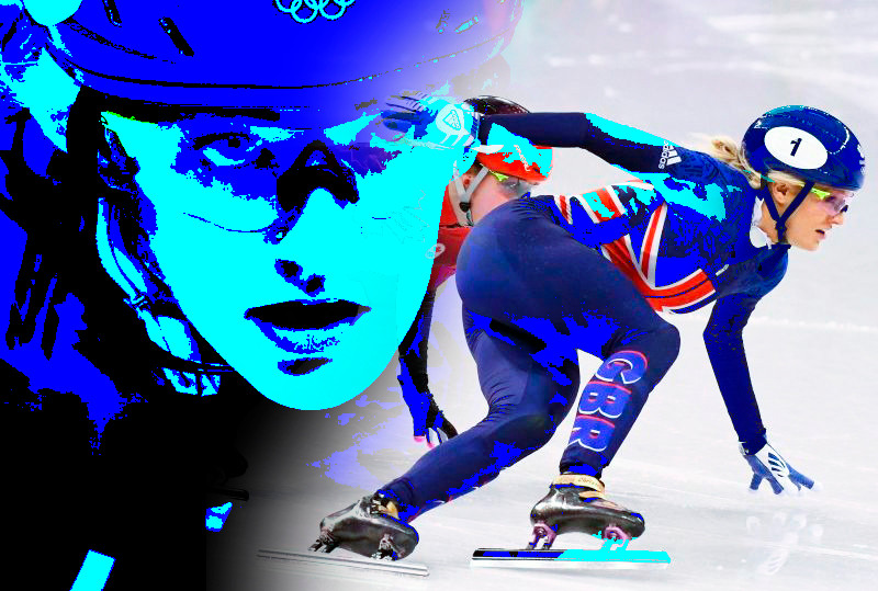 Elise Christie Team GB - PyeongChang 2018