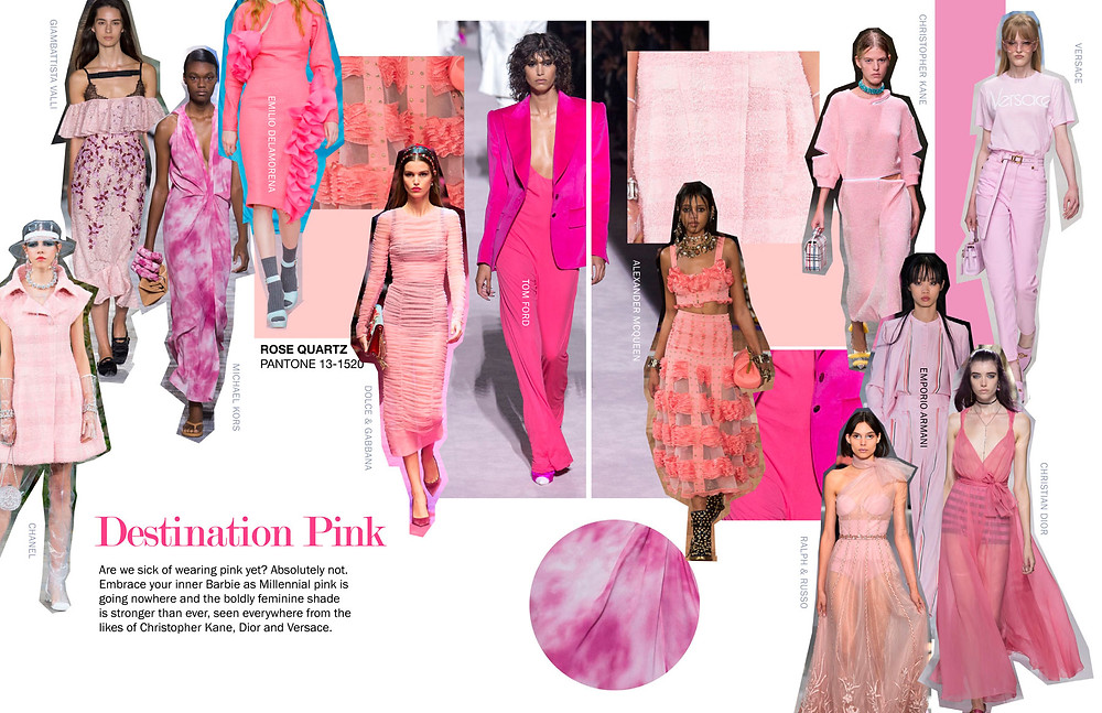 Destination Pink - SS18 Trends