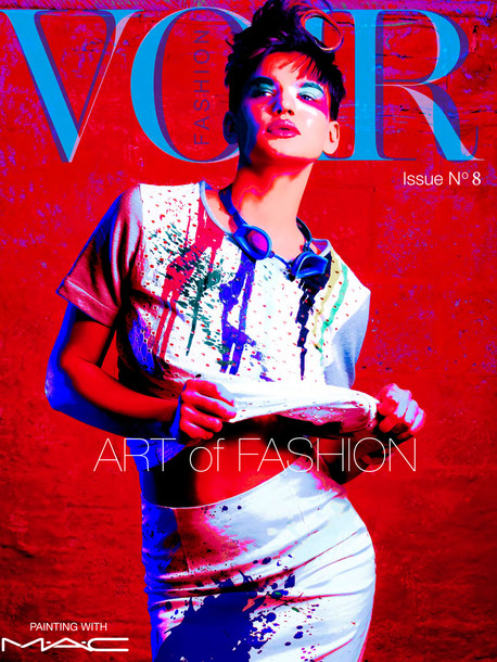 Issue 8 – Art of Fashion: Painting with MAC