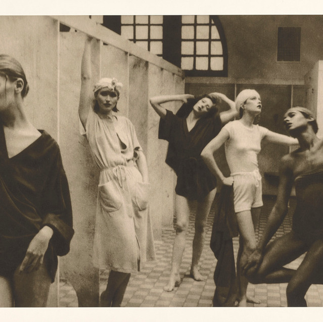 Deborah Turbeville American, 1932–2013 Bath House, negative, 1975; print, about 1980 Gelatin silver print 40.6 x 60.8 cm (16 x 23 15/16 in.) The J. Paul Getty Museum, Los Angeles, Gift of the Estate of Deborah Turbeville © Deborah Turbeville Foundation 2017.90