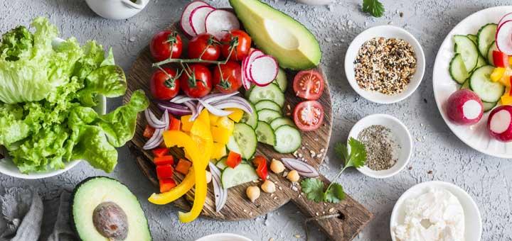 salad prep - Wild Beets Kitchen -