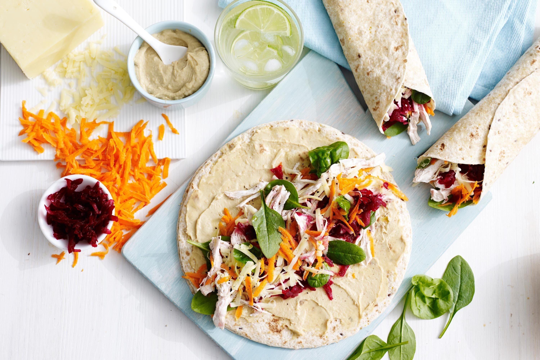 Healthy Wrap - Wild Beets Kitchen -