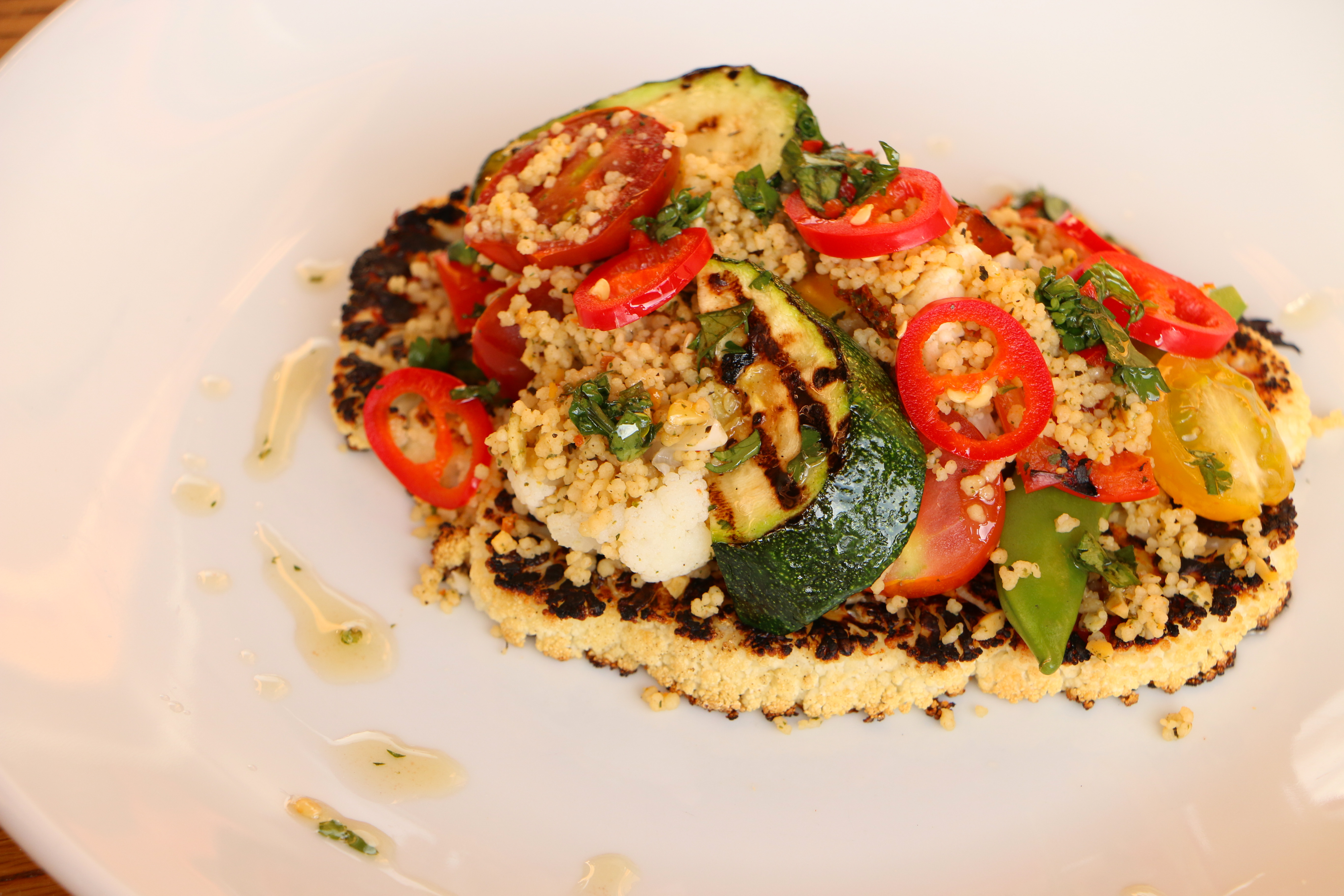 Miso cauliflower  Wild Beets Kitchen
