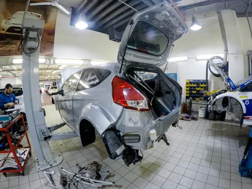 Sezonun İlk Yarışı İçin Ford Garajında Hazırlıklar Son Sürat Devam Ediyor