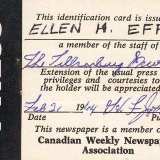 Press Pass 1964