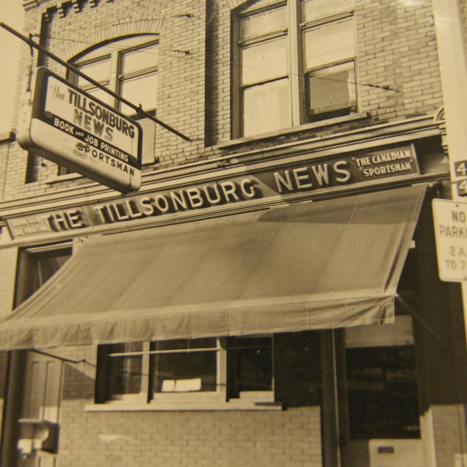 Tillsonburg News Broadway