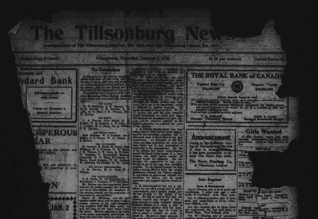 Tillsonburg News January 1920