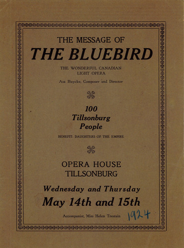 """The Bluebird"" Program"