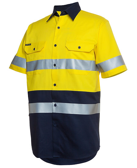6HSS Hi Vis S/S (Day & Night) Work Shirt