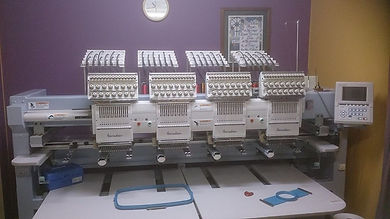 Our 4 Head Embroidery Machine