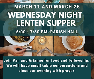 Copy of Copy of Wednesday Night Lenten S