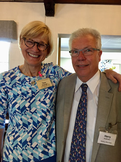 Harry Andrews and Tina Thomas