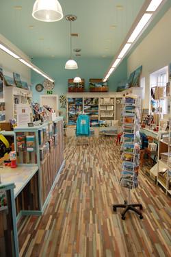 Information point & Sunset bay shop portrait image