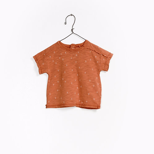 T-shirt imprimé 100% coton organique - Play Up