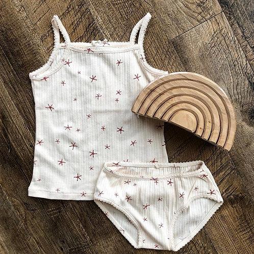 Ensemble de nuit chemisette + culotte - Play Up