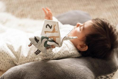 Petit livre en tissu - J'apprends en douceur - Snooze Baby