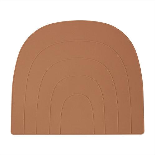 Set de table Rainbow en silicone - Terracotta - OYOY