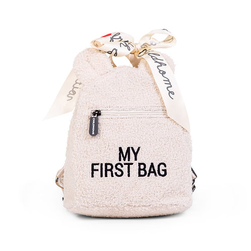 My first bag - Teddy écru - Childhome