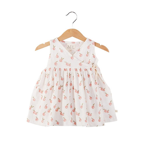Robe en jersey RUBI imprimé mandarines - Les Petites Choses